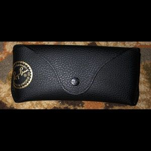 RayBan sunglasses and case never worn